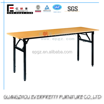 2016 New Wooden Small Folding Study Table For Korean School And Office  Conference