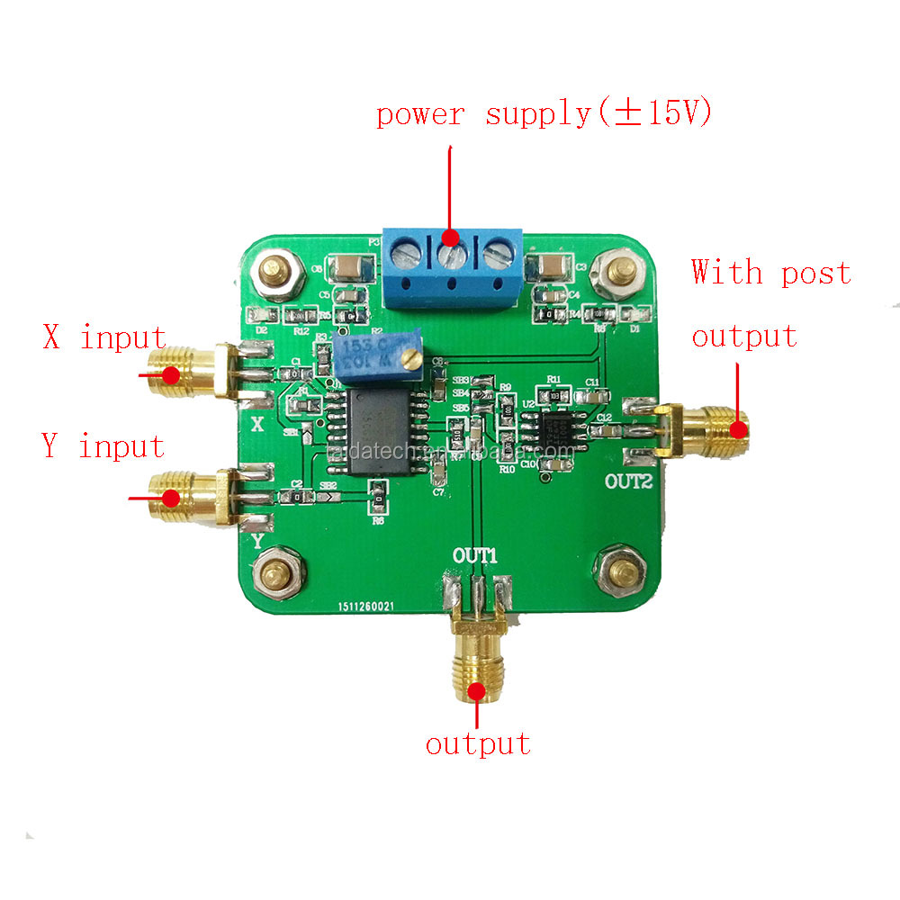 Taidacent Ad834 500mhz Bandwidth Signal Conditioning Power Control Analog  Voltage Amplifier Frequency Analog Multiplier - Buy Analog  Multiplier,Analog