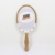 PAPER Hand fan with wood hand promotion gift fan