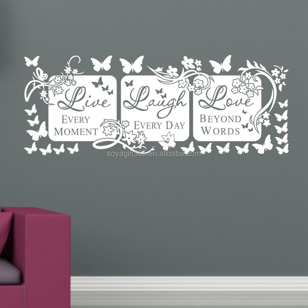 Live Laugh Love Wall Stickers Live Laugh Love Wall Stickers - Wall decals live laugh love