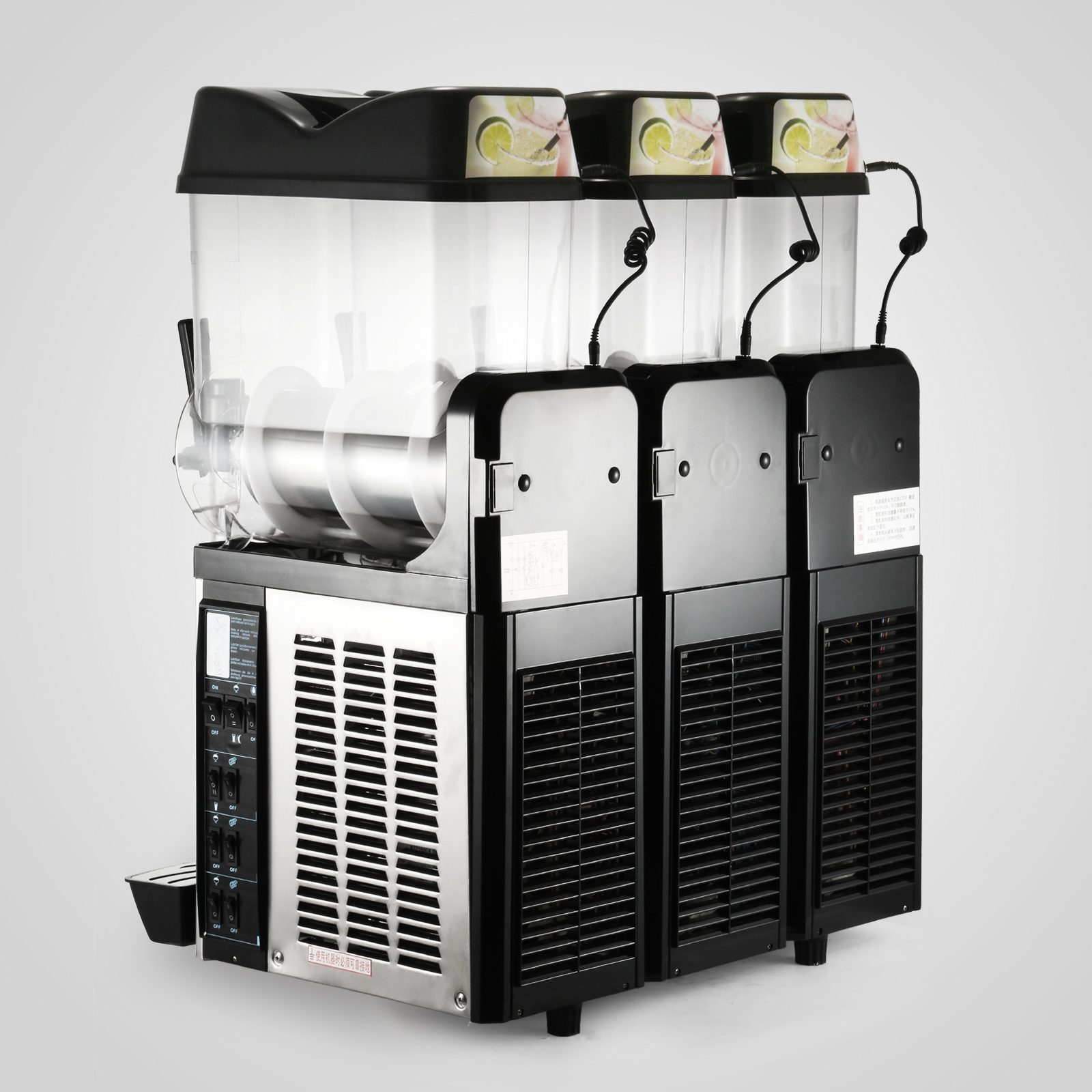 3 Tanks 36L Commercial Frozen Drink Slush Slushy Machine Slush Maker Margarita