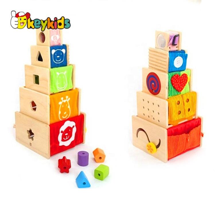 Creative Intelligent Nesting Toys Wooden Baby Stacking Cups W13d089 Buy Baby Stacking Cupsbaby Stacking Cupsbaby Stacking Cups Product On