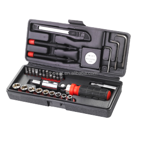 30Pcs Mini Cheap Ratchet Socket Tool Kit