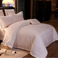Jacquard Colorful luxury high quality king size hotel bedding sets