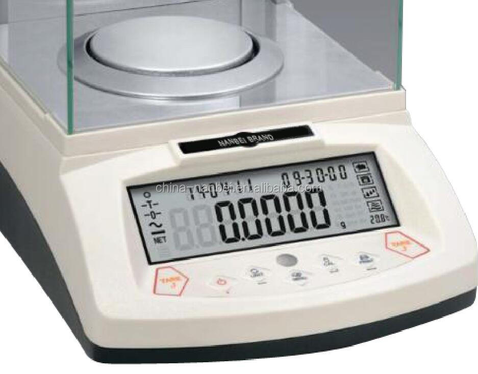 Lab 0.1mg Analytical Balance With CE