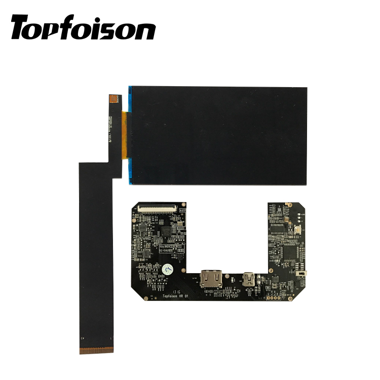 Topfoison 5.2 inch IPS 1080p lcd display and hdmi controller board for Projector