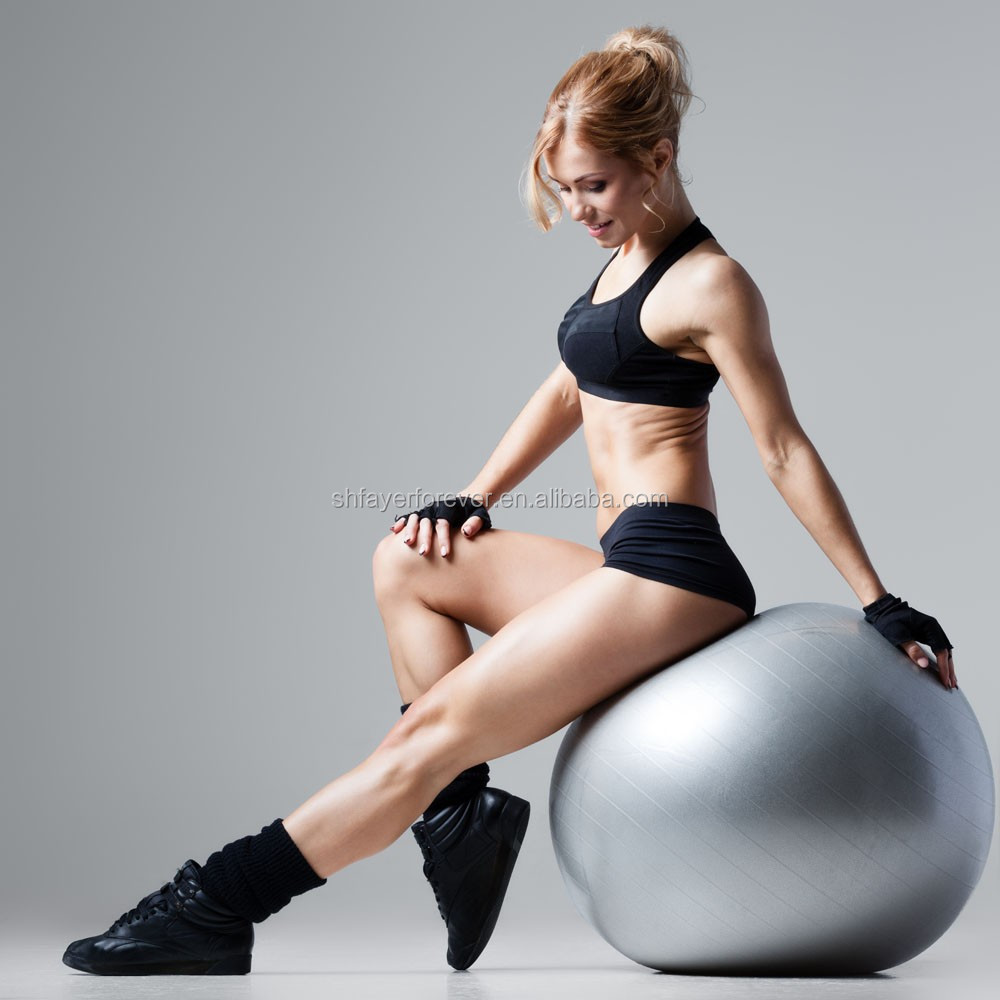 hot sale anti burst body shape ball used in gym and house fits for men and women