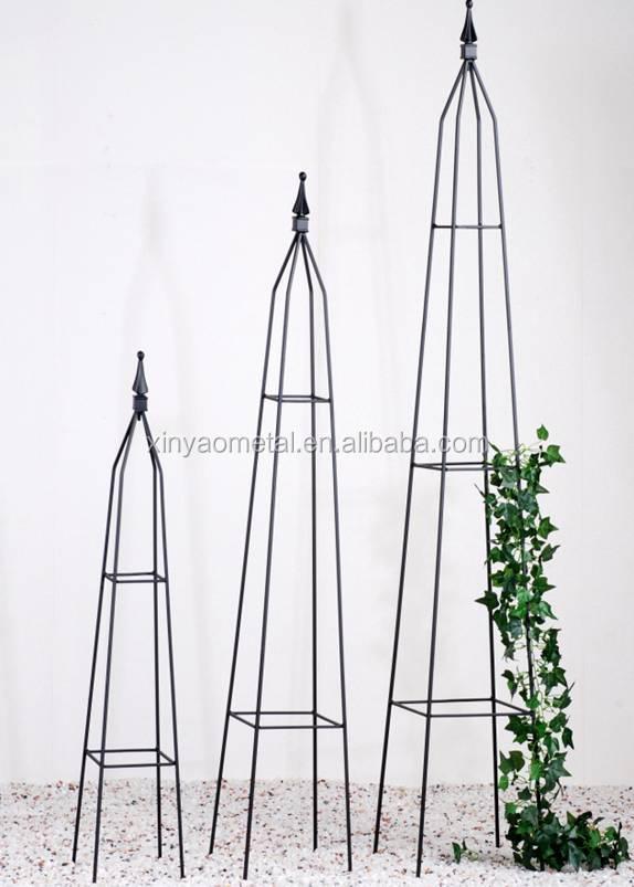 Obelisk Metal Garden Obelisk Square Tube Metal Obelisk Garden