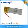 Lithium ion Polymer Battery 3.7v 90mah Lipo Rechargeable Battery for Electrical Pen/Watch