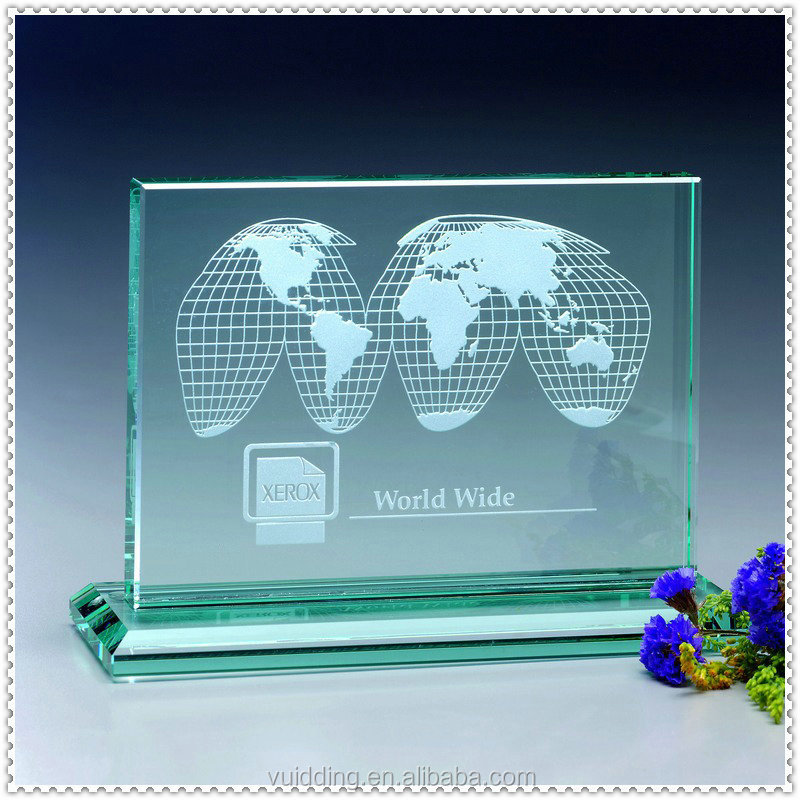 Office Favor Crystal Imitation World Map Award For New Office