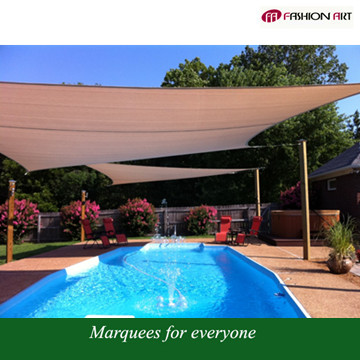 HDPE Sail Material and Shade Sails & Enclosure Nets Type outdoor garden sun shade net