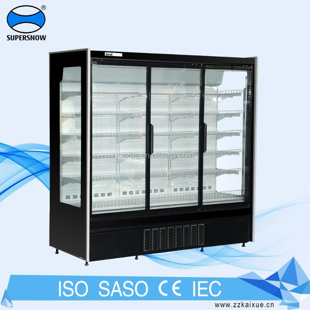 European Design Supermarket Glass Door Refrigerator Buy Glass Door