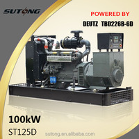 125kva Deutz Diesel Generator Water Cooled