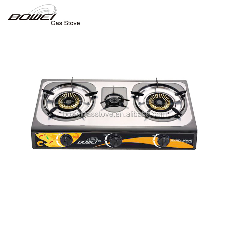 First-class table top china most popular bowei gas cooker
