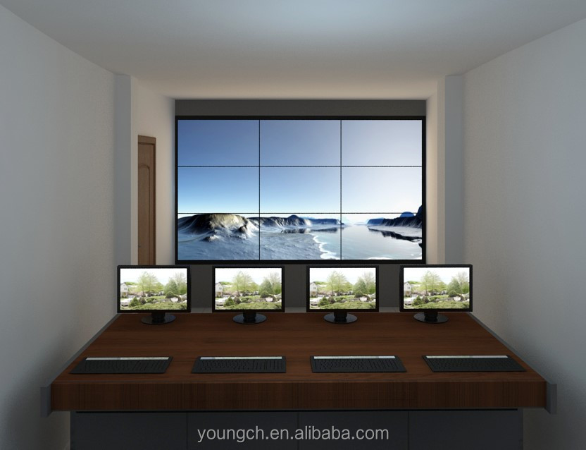 Hot sale promotion our company has special price video wall price in india cheap for projects size 46 47 55 and more quality