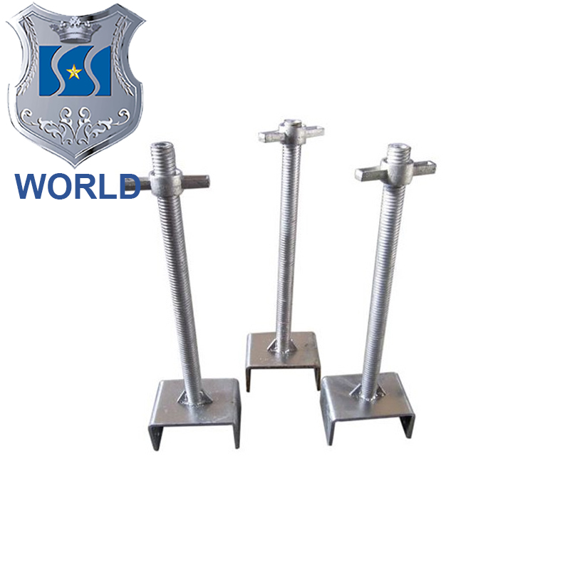 WORLD brand Steel Hollow Screw Jack BaseReal TianJin factory)
