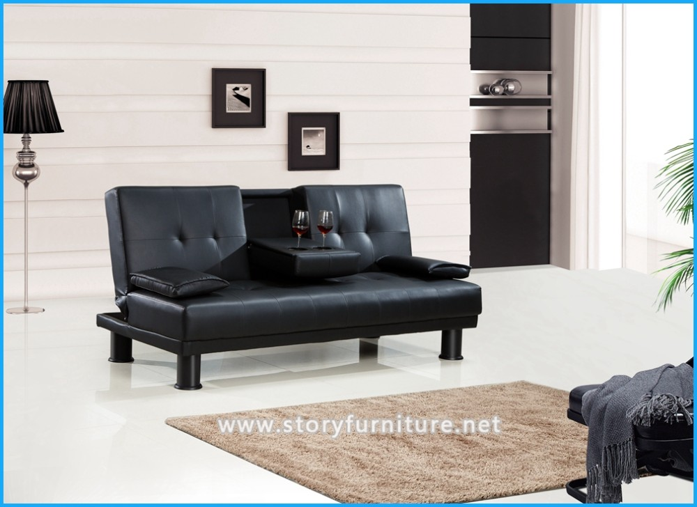 High quality modern furniture sofa bed tea table futon bed for Quality modern furniture