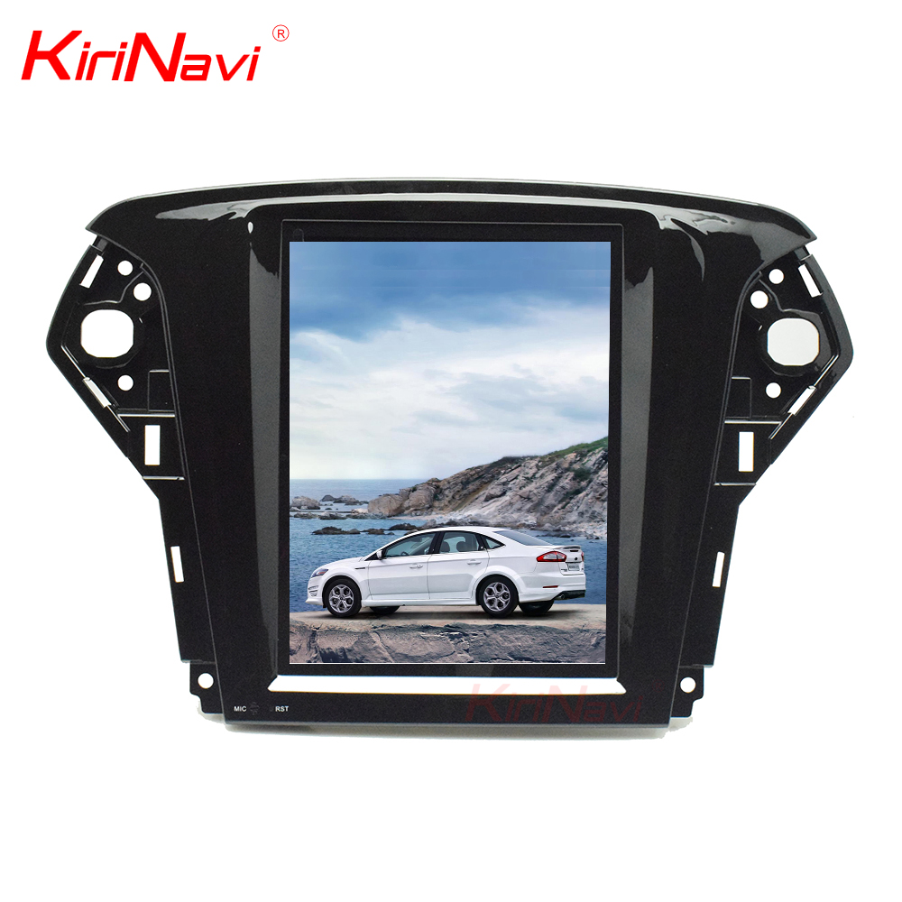 Kirinavi WC-FM1012 10.4 inch Vertical screen android 6.0 car dvd player for Ford Mondeo 2007- 2012 car navigation 2G 32G ROM