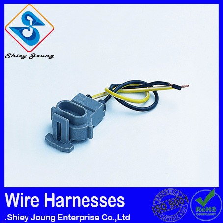 Custom Design automotive wiring harness 2 pin male and female connector Sensor wire harness