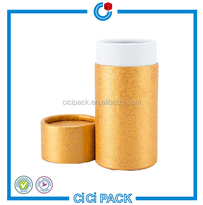 Cylindrical cardboard round box Paper Tube Packaging Boxes For Umbrella/Food/Underwear/Gift box