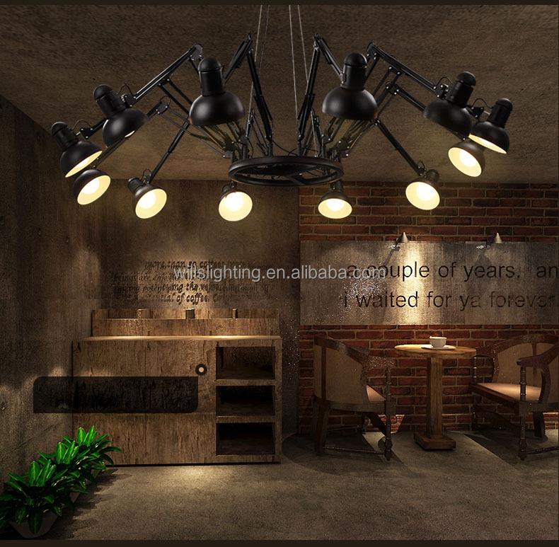 personnalis moderne led ronde araign e lampe lustre d corative lustre id de produit 60370895613. Black Bedroom Furniture Sets. Home Design Ideas