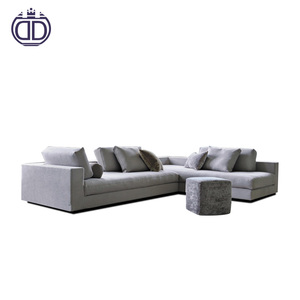 Alibaba nice Nordic style latest corner sofa design 3 seater l kid sofa modern sectional sofa set design