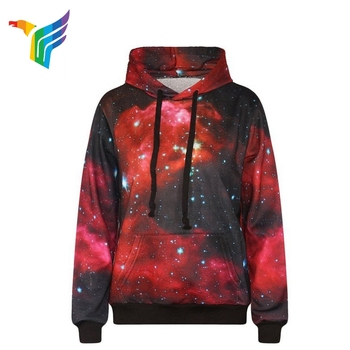 Guangzhou Factory Polyester Customized Size Waterproof School Red Hoodie