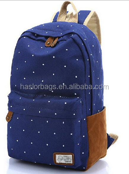 2015 Primary Canvas Cute Backpack For High School Girls - Buy Cute ...