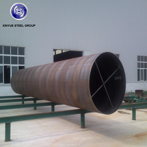Construction Materials API 5L SSAW/HSAW High Strength Spiral Welded pipe used for Natural Oil, Gas and structure