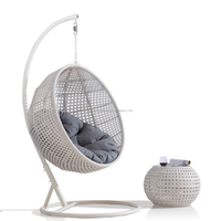 Professional Manufacturer Wholesale Newly hand made hanging Patio Swing Chair rattan wicker Garden set Outdoor furniture