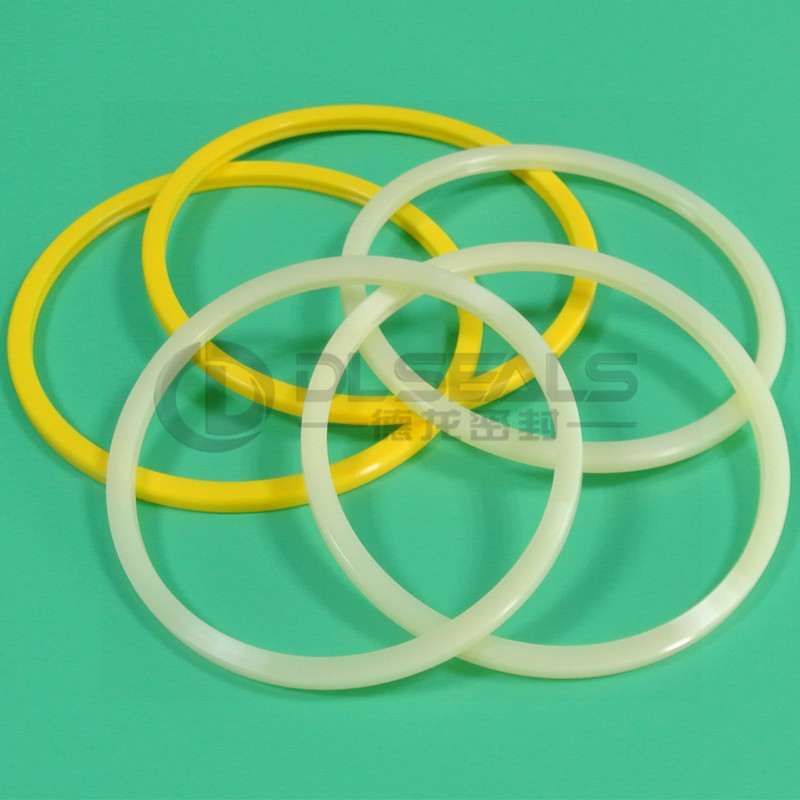 DLseals Machine parts plastic ring wear-resistant green o ring sewing machine Polyurethane O-Rings