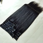 Hot Sale Fullhead Remy Human Hair Clip In Hair Extension