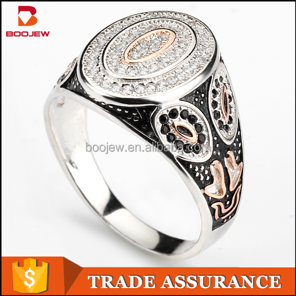 Selling jewelry S925 pure silver ring inlaid gems gold ring ring imitation of 18 k gold jewelry wholesale fashion jewelry