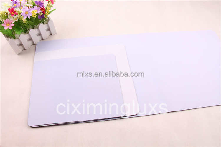 White blank sublimation mousepad with rubber material