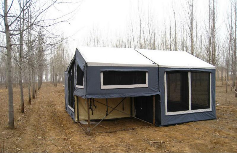 luxus zelt f r camping anh nger van zelt produkt id 677340806. Black Bedroom Furniture Sets. Home Design Ideas