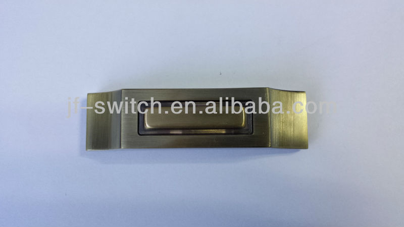 zinc alloy doorbell switch with light 1236