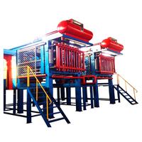 Best price EPS Styrofoam box shape moulding machine line