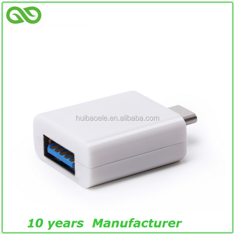Stylish usb 3.1 type c to usb 3.0 adapter with female connector