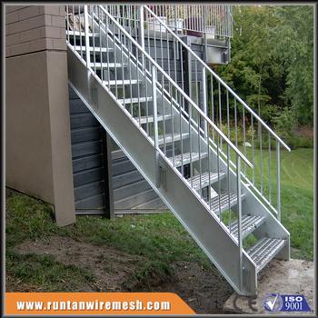 Acero Al Aire Libre Exterior Escaleras Para Edificios - Buy Exterior ...