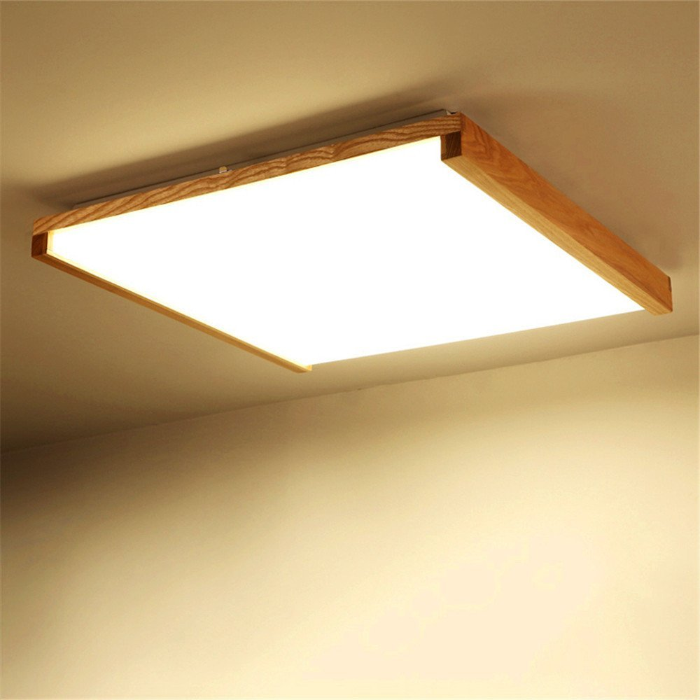 Get Quotations Modern Led Pendant Flush Mount Ceiling Fixtures Light Wood Solid Lamps