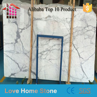 Hot sale Calacatta gold white marble slab and tile,Chinese white marble for project use
