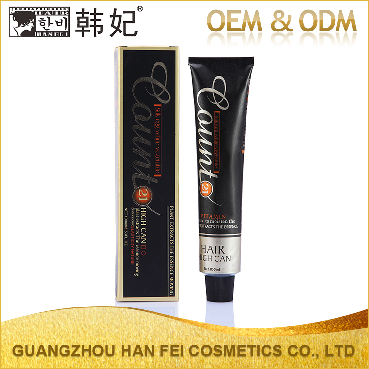 OEM/ODM 100ml 53Colors Professional Italian Hair Color Brands Name With Wholesale Price