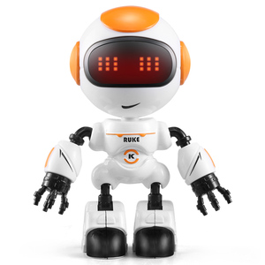 Mini Smart Alloy Toy Robot with Touch Control for Kids Christmas Gift