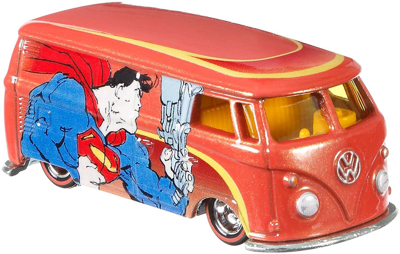 Hot Wheels DC Comics Volkswagen T1 Panel Bus Vehicle