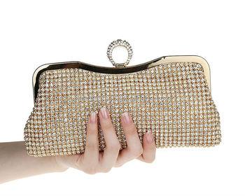 Wholesale Party Purse Clutch Bag Gold Color
