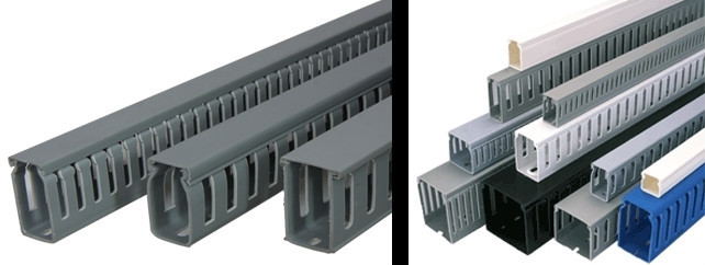 Pvc Cable Tray : Dc manufacturer flexible plastic cable tray and trunking