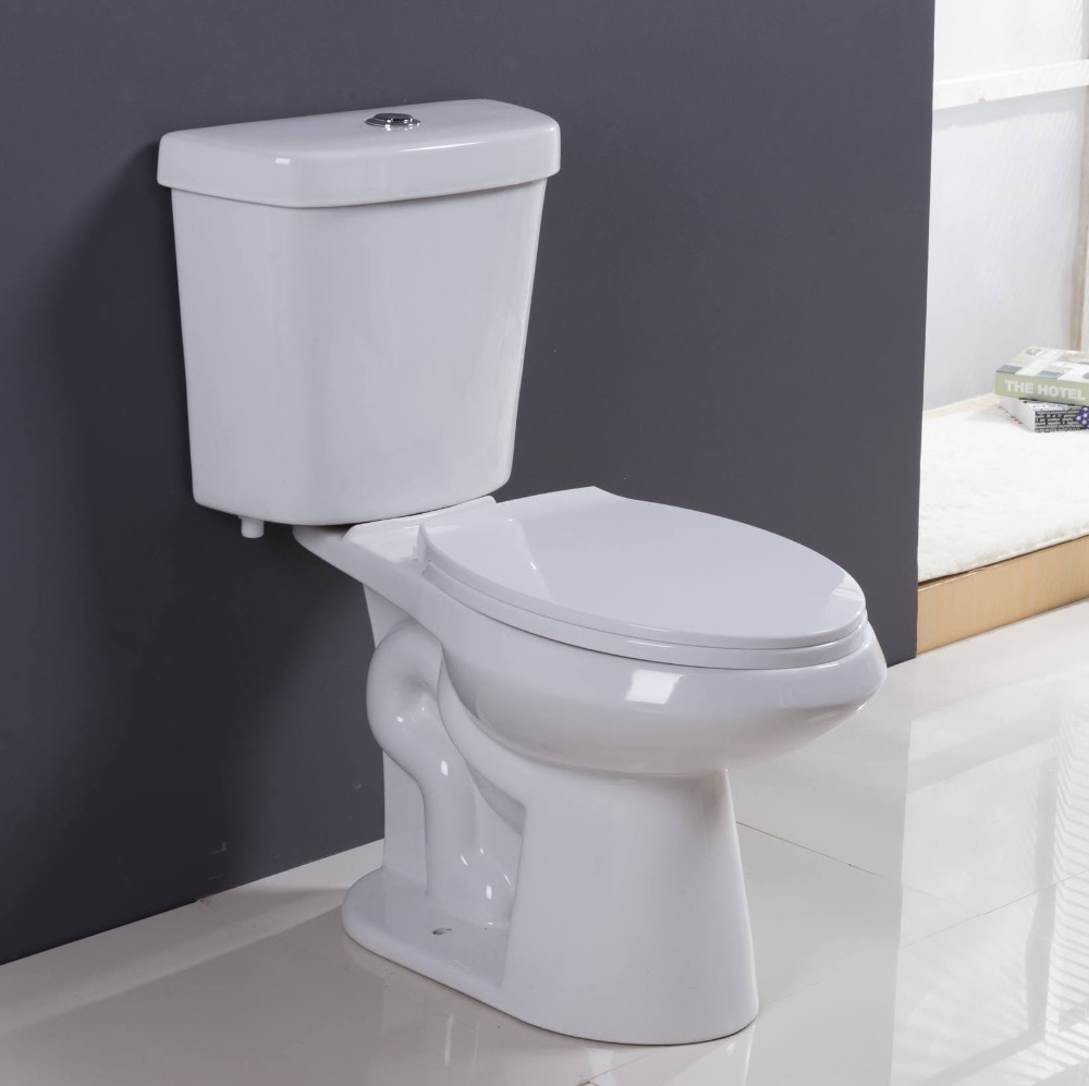 Dual flush sanitary ware high quality two piece toilet