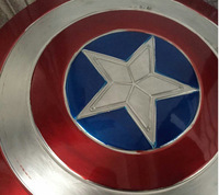 The replica metal shield of Captain America