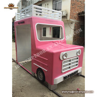 China factory custom metal car model fast food car sale ice cream car for sale