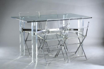 cologique de haute qualit effacer plexiglas table. Black Bedroom Furniture Sets. Home Design Ideas